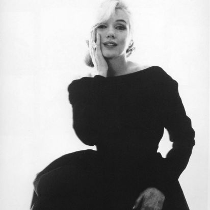 """Marilyn Monroe """"The Last Sitting"""" by Bert Stern for Vogue."""